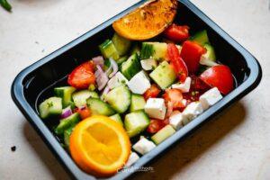 Görög saláta dobozban