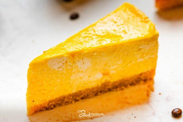 Mangó kókusz sajttorta