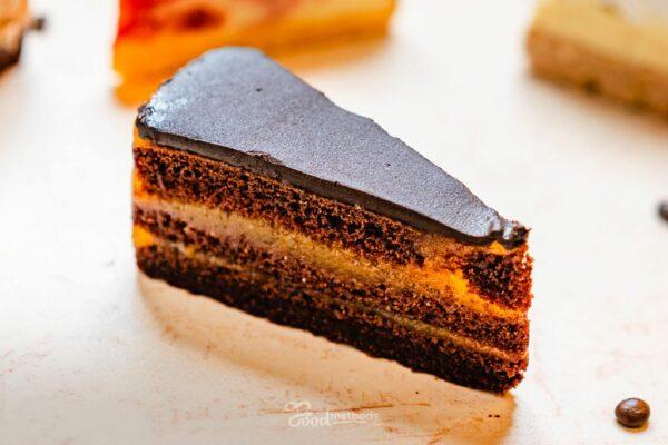 Sacher tortaszelet