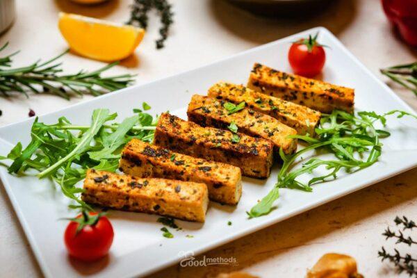 Tofu tányéron