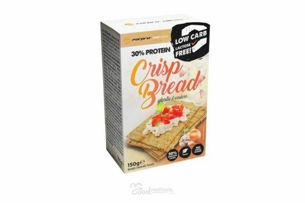 30% Protein Crisp Bread – Garlic & Onion ForPro