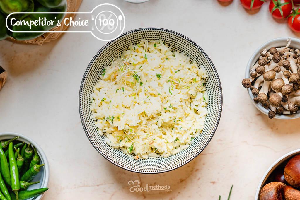 Versenyzői Tojásos rizs tányéron