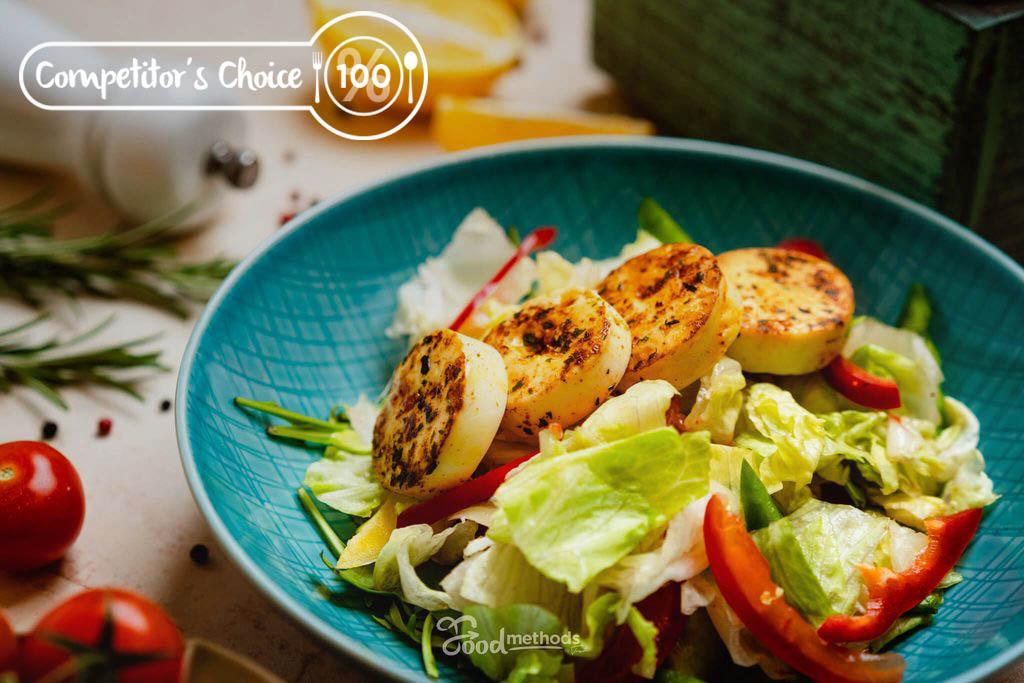 Versenyzői Tojásos saláta tányéron